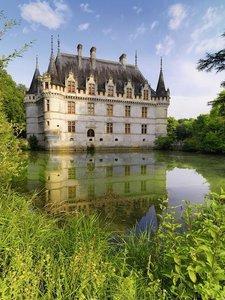Schloss Azay-le-Rideau, Loiretal. Puzzle 1500 Teile