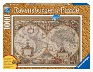 Antike Weltkarte. Puzzle 1000 Teile