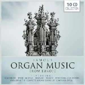 Famous Organ Music from Europe