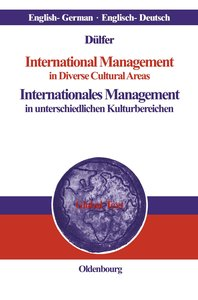 International Management in Diverse Cultural AreasInternationale
