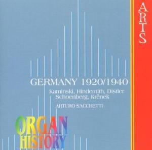 Organ History-1920-40