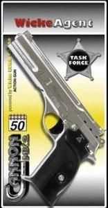 Sohni-Wicke - Agenten Pistole Cannon MX2, chrom