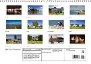 WALES / UK-Version (Wall Calendar 2015 DIN A3 Landscape)