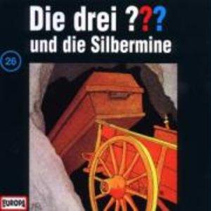 Die drei ??? 026 und die Silbermine. (drei Fragezeichen). CD