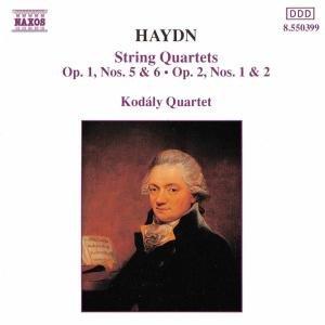 Streichquartette op.1,0+6/op.2