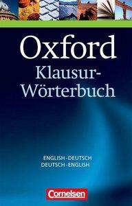 Oxford Klausur-Wörterbuch Englisch - Deutsch / Deutsch - Englisc