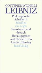 Schriften zur Logik und zur philosophischen Grundlegung von Math