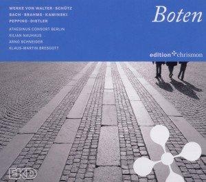Boten-Werke von Walter,Schütz,Bach,Hiller