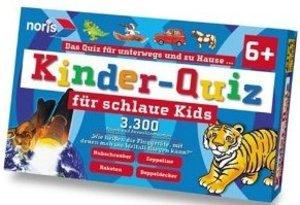 Kinderquiz für schlaue Kids blau