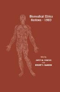Biomedical Ethics Reviews · 1983
