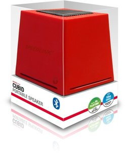 Speedlink CUBID tragbarer Bluetooth-Lautsprecher, rot