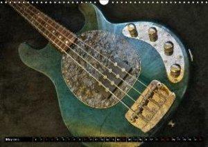 GUITARS Vintage Style (Wall Calendar 2015 DIN A3 Landscape)
