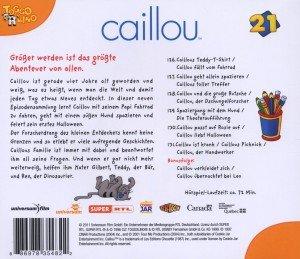 Caillou 21: Caillou passt auf Rosie auf und weitere Geschichten
