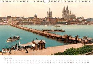 Deutschland um 1900 (Wandkalender 2016 DIN A4 quer)