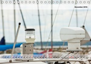 Sailing Details (Tischkalender 2016 DIN A5 quer)