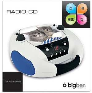 Tragbares CD-Radio CD52 - Cats