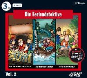 Die Feriendetektive Hörbox 2