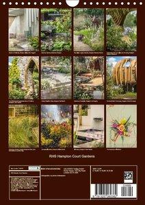 RHS Hampton Court Gardens (Wall Calendar 2016 DIN A4 Portrait)