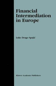 Financial Intermediation in Europe