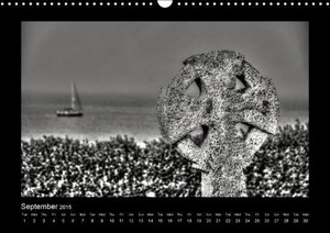 Cornwall - Black and White (Wall Calendar 2015 DIN A3 Landscape)