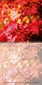 The Red Garden (Wall Calendar 2015 300 × 300 mm Square)