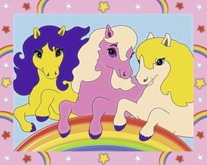 Ponys. Malen nach Zahlen Junior