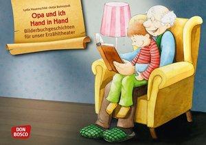 Opa und ich Hand in Hand