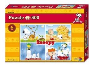 Noris 606031304 - Peanuts Puzzle Snoopy, 500 tlg.