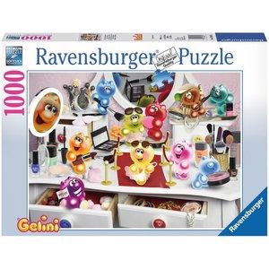 Ravensburger 19645 - Gelini Schönheitssalon, Puzzle, 1000 Teile