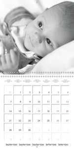 Babies Little Angels (Wall Calendar 2015 300 × 300 mm Square)