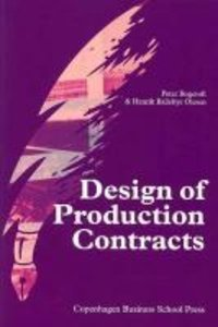 Design of Production Contracts