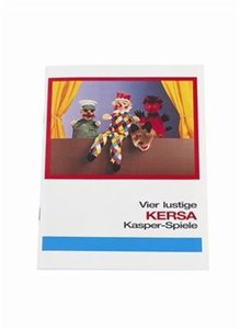 Kersa 90060 - 4 Spieltexte für Puppenspiel, Kasper Theater)