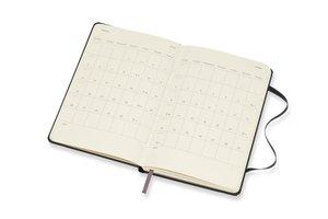 Moleskine 12 Monate Wochen Notizkalender 2018, A6 Hard Cover, Sc