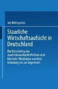 Staatliche Wirtschaftsaufsicht in Deutschland