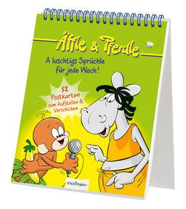 Äffle & Pferdle - A luschtigs Sprüchle für jede Woch!, 52 Postka