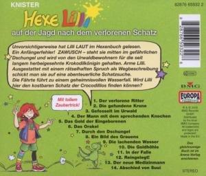 Hexe Lilli 12 auf der Jagd nach dem verlorenen Schatz. CD