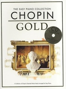 THE EASY PIANO COLLECTION CHOPIN GOLD FOR EASY PIANO BOOK/CD