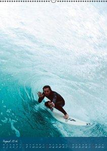 Abenteuer Wellenreiten (Wandkalender 2016 DIN A2 hoch)