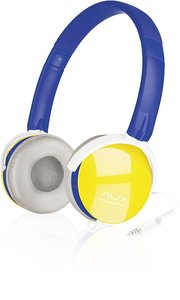 AUX-FREESTYLE Stereo Headset, blue-yellow SL-8752-BEYW