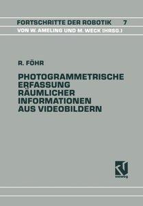 Photogrammetrische Erfassung Räumlicher Informationen aus Videob