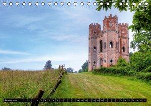 Südwestengland - Dorset & Devon (Tischkalender 2016 DIN A5 quer)