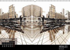 VIRTUAL CITY 2016 UK-Version (Wall Calendar 2016 DIN A3 Landscap