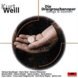 Die Dreigroschenoper. Songs und Szenen. Klassik-CD