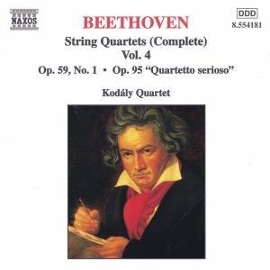 Sämtliche Streichquartette Vol.4