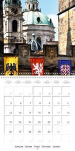 Prague in my Heart (Wall Calendar 2015 300 × 300 mm Square)