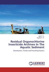 Residual Organochlorine Insecticide Archives In The Aquatic Sedi