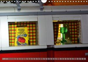 Der LEGO VW Bulli (Wandkalender 2016 DIN A4 quer)