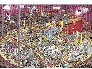 Jumbo Spiele 01499 - Jan van Haasteren: Im Zirkus, 3000 Teile