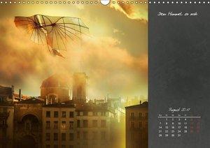 Auf wundersamer Reise im Reich der Fantasie (Wandkalender 2017 D