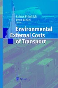 Environmental External Costs of Transport